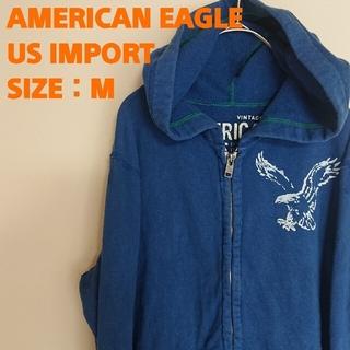 アメリカンイーグル(American Eagle)の☆US輸入☆AMERICANEAGLE☆アメリカンイーグル☆パーカー☆裏起毛 (パーカー)