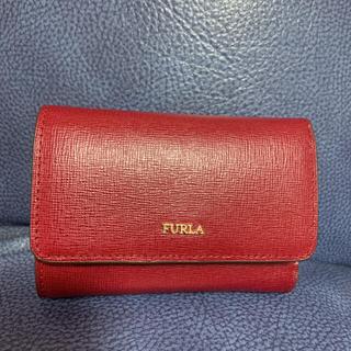 Furla - フルラ FURLA ワインレッド 折り財布 レディース 女性