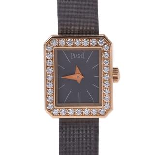 ピアジェ(PIAGET)のピアジェ  ミニプロトコール ベゼルダイヤ 腕時計(腕時計)