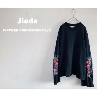 Jieda - 【値下げ交渉可】ジエダ FLOWER EMBROIDERY L/S