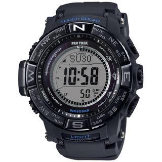 カシオ(CASIO)のカシオ プロトレック 電波ソーラーモデル 腕時計 ブラック(腕時計(デジタル))