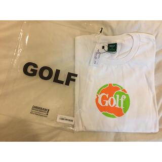 新品半額🉐セール Globe Tee by Golf Wang XLサイズ(Tシャツ/カットソー(半袖/袖なし))