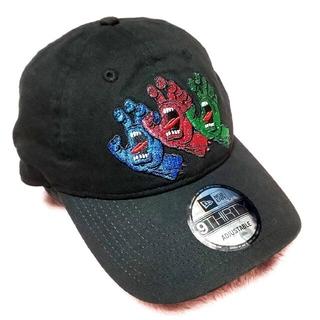 ニューエラー(NEW ERA)の限定モデルレア商品 NEWERA 9THIRTY SANTA CRUZ ラメ刺繍(キャップ)