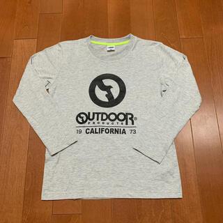アウトドアプロダクツ(OUTDOOR PRODUCTS)のoutdoor ロングTシャツ160cm (Tシャツ/カットソー)