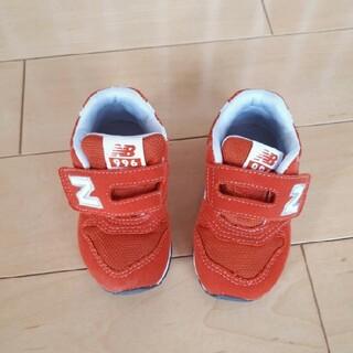 ニューバランス(New Balance)のニューバランス 996  12.5cm オレンジ ベビーシューズ ファーストシュ(スニーカー)
