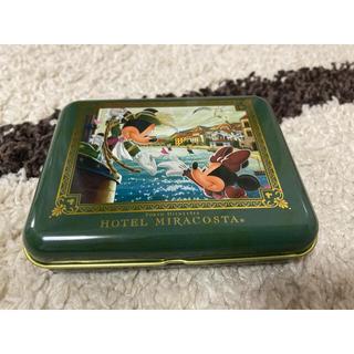 ディズニー(Disney)のミラコスタ アメニティ缶(旅行用品)