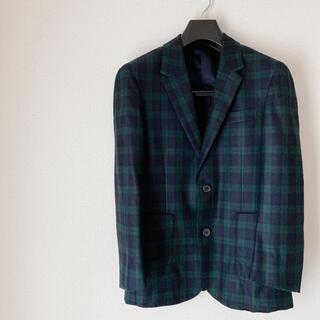 トゥモローランド(TOMORROWLAND)のトゥモローランド チェック スーツ セットアップ 42(セットアップ)