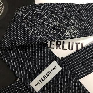 ベルルッティ(Berluti)の新品20awベルルッティ BERLUTIスモールストライプネクタイカリグラフィー(ネクタイ)
