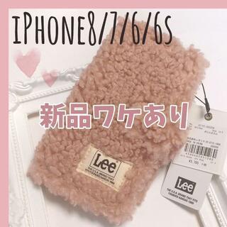 リー(Lee)の新品ワケあり!Lee×SMIRNASLI ボアiPhoneケース ピンク(iPhoneケース)