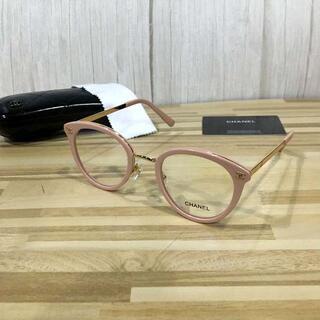 シャネル(CHANEL)のシャネル メガネ ピンクフレーム ココマーク2132(サングラス/メガネ)