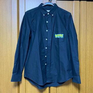 ウィゴー(WEGO)のWego×Keith haring コラボ シャツ ブラック キースへリング(シャツ)