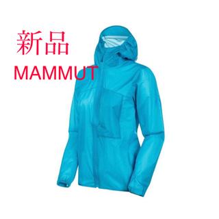 マムート(Mammut)のマムート ケントライトHSフーテッドジャケット レディースL(ナイロンジャケット)
