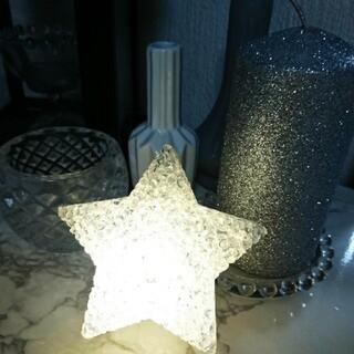 ザラホーム(ZARA HOME)の2個スター星形星型ルームライトランプ(フロアスタンド)