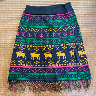 ロデオクラウンズ(RODEO CROWNS)のロデオクラウンズ ニットスカート(ひざ丈スカート)