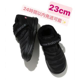 ニューバランス(New Balance)の【新品未使用】ニューバランス MOC MID ブラック スニーカー ブーツ(ブーツ)