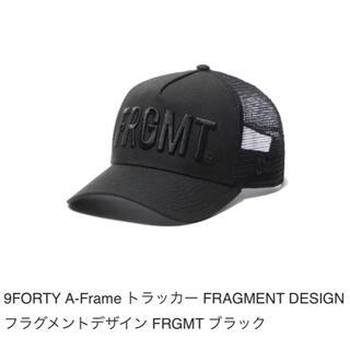 FRAGMENT - NEW ERA 9FORTY A-Frame FRGMT メッシュキャップ