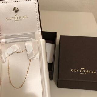 ココシュニック(COCOSHNIK)のココシュニック ブレス ゴールド(ブレスレット/バングル)