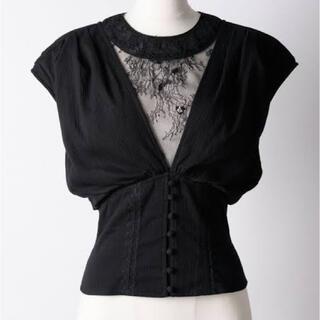 ラベルエチュード(la belle Etude)のla belle etude  Vintage調コルセット半袖ブラウス(シャツ/ブラウス(半袖/袖なし))