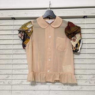 コムデギャルソン(COMME des GARCONS)のCOMMEdesGARCONS GIRL 半袖シャツ(シャツ/ブラウス(半袖/袖なし))
