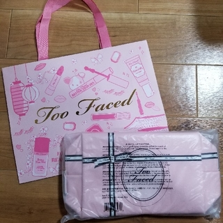 Too Faced - too faced ポーチ ノベルティ