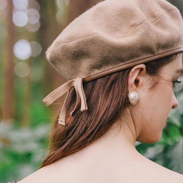 eimy istoire(エイミーイストワール)のエイミーイストワール ベレー帽 レディースの帽子(ハンチング/ベレー帽)の商品写真