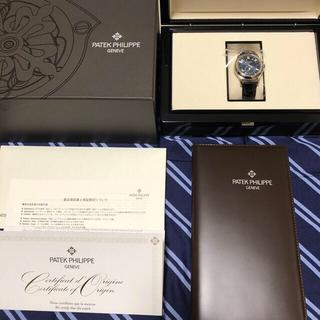 パテックフィリップ(PATEK PHILIPPE)のパテックフィリップ アニュアルカレンダー ムーンフェイズ 5205G-013 青(腕時計(アナログ))