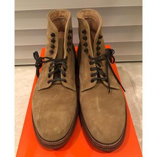 オールデン(Alden)の美品・Alden スエードブーツ 27.5センチ(ブーツ)