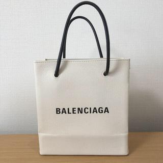 バレンシアガ(Balenciaga)のまるちゃん様専用  バレンシアガ ショッパー トート XXS 白(トートバッグ)
