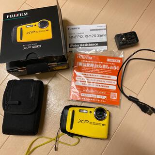 フジフイルム(富士フイルム)のFUJI FILM FinePix XP FINEPIX XP120 YELL…(コンパクトデジタルカメラ)