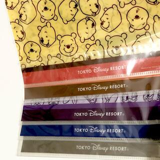 ディズニー(Disney)のディズニーリゾート クリアファイル 5枚セット Disney  (クリアファイル)