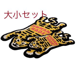 アベイシングエイプ(A BATHING APE)のHUMAN MADE TIGER RAGU 大小セット(ラグ)