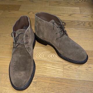 ビューティアンドユースユナイテッドアローズ(BEAUTY&YOUTH UNITED ARROWS)のBOEMOS(UNITED ARROWS )スエードブーツ (ブーツ)