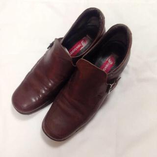 アラヴォン(Aravon)のニューバランス aravon シューズ パンプス ブーツ 23cm 茶色(ブーツ)