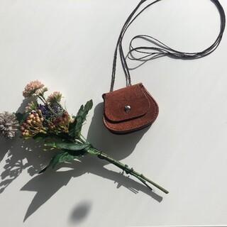 ステュディオス(STUDIOUS)の[新品/即発送] round leather pochette  #No.30(ショルダーバッグ)
