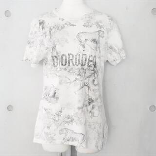 Christian Dior - ディオール 19年 トワル・ド・ジュイ リッチアニマル柄 Tシャツ XS