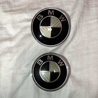 ビーエムダブリュー(BMW)のBMW カーボンエンブレム(車外アクセサリ)