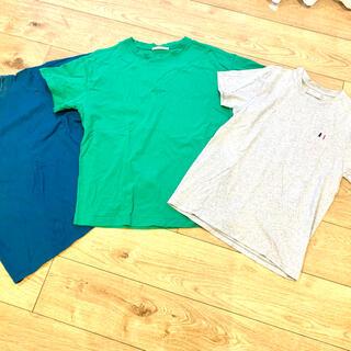 アクネ(ACNE)のEND購入 ACNE アクネステューディオスTシャツ2枚+AMI Tシャツ(Tシャツ/カットソー(半袖/袖なし))