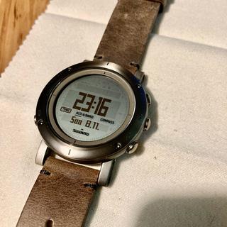 スント(SUUNTO)のSUUNTO[スント] エッセンシャル スティール ESSENTIAL STEE(腕時計(デジタル))
