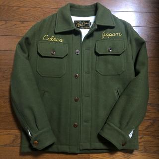 CALEE - CALEE スーベニアメルトンウールジャケット Mサイズ