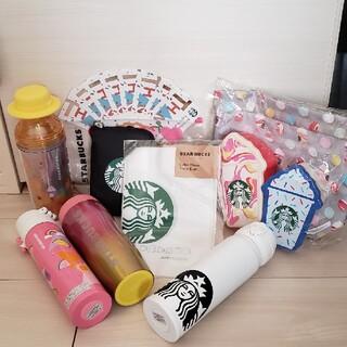 スターバックスコーヒー(Starbucks Coffee)のSTARBAUCKS  タンブラー エコバッグ ドリンク券 コーヒーフィルター(エコバッグ)