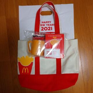 マクドナルド(マクドナルド)のマクドナルド福袋 商品無料券 Coleman バッグ(フード/ドリンク券)