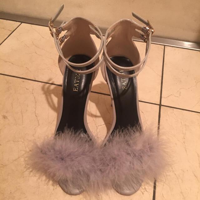 EATME(イートミー)の再値下げ。EATME♡ファーサンダル レディースの靴/シューズ(サンダル)の商品写真