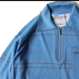 サンシー(SUNSEA)のDAIRIKU19ssハーフジップ(ポロシャツ)
