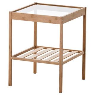 イケア(IKEA)のベッドサイドテーブル NESNA ネスナ 要組立て 新品 IKEA(コーヒーテーブル/サイドテーブル)