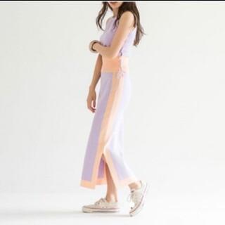 シールームリン(SeaRoomlynn)の新品タグ付き★シールームリン★バイカラーニットスカート☆ロングスカート☆(ロングスカート)