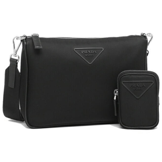 PRADA - 【美品】PRADA 20AW SHOULDER BAG NYLON  BLACK