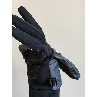 ザノースフェイス(THE NORTH FACE)の美品ノースフェイス2way手袋THE RUN ランニングミトンスマホ対応(ウェア)