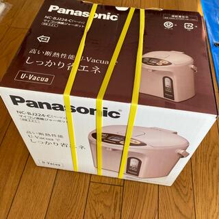 パナソニック(Panasonic)のPanasonic マイコン沸騰ジャーポット NCーBJ224C(電気ポット)