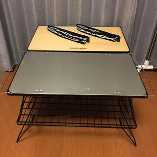 ユニフレーム(UNIFLAME)のユニフレーム フィールドラック 天板 ベルト ケース セット バラ売り不可(テーブル/チェア)