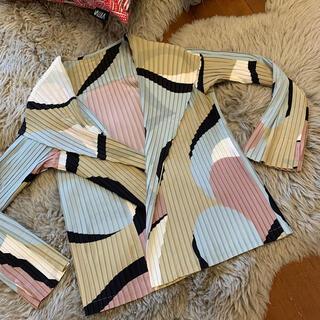 イッセイミヤケ(ISSEY MIYAKE)のイッセイミヤケ 2020年 コレクションライン羽織 美品(テーラードジャケット)
